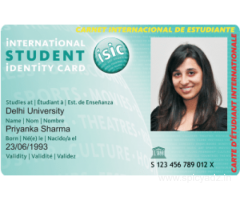A student ID card that gives you more