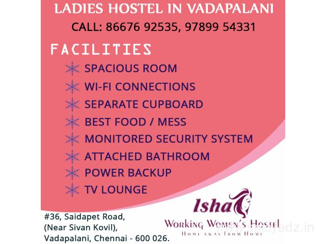 Working Womens Hostel In Vadapalani - 1