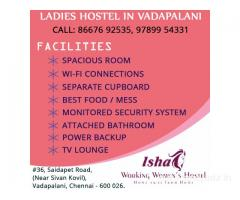 Working Womens Hostel In Vadapalani