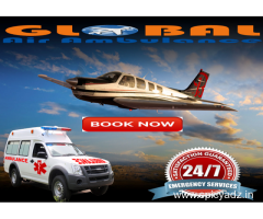 Air Ambulance in Guwahati is now in your pocketbook by Global Air Ambulance from Guwahati