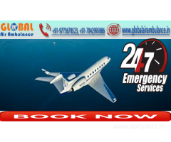 Bed-to-bed evacuation of the patient with specialized doctor all in Budget from Ranchi by Global Air