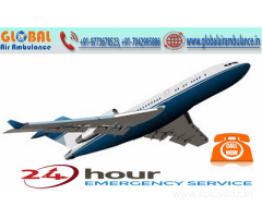Trustworthy service in the medical field is provided by Global Air Ambulance in Mumbai