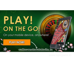 Experience the thrill of playing casino online   online casino India