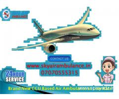 Choose Air Ambulance Service in Delhi at Breathtaking Price