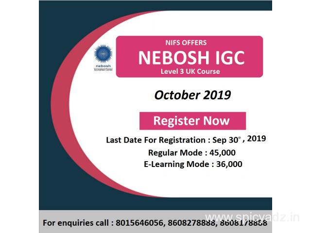 NEBOSH International Safety Courses in Marthandam - 1