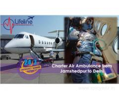 Lifeline Air Ambulance in Jamshedpur Has Access to Move Patient Wide Across the Nation