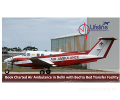 Lifeline Air Ambulance in Delhi Provides Medical Access at Ease