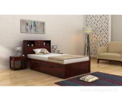 Amazing collection of wooden single beds @ Wooden Street
