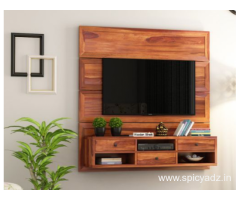 Get Wooden Tv Units from Pre Navratri Sale! Enjoy Up To 55% off!