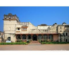 Get Sheesh Mahal Orchha - MPTDC in,Orchha with Class Accommodation.