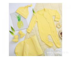 Buy Newborn Baby Boy and Girls Organic Clothes Online | Softsens