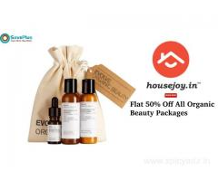 Flat 50% off All Organic Beauty Packages