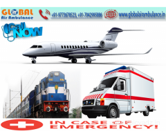 Best service from Global Air Ambulance in Mumbai with advance facilities in low cost