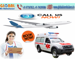 Global Air Ambulance in Chennai with specialized doctor and superior facilities