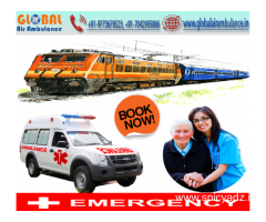 Global Air Ambulance in Bangalore available for you for 24/7 with all advance facilities