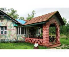 Get Bhagawathi Nature Camp in,Chikkamangaluru with Class Accommodation.