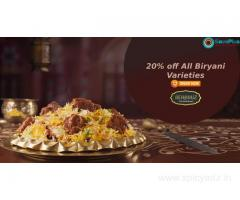 BehrouzBiryani Coupons, Deals & Offers: Save Rs.100 on First Purchase