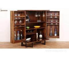 Arrange the liquor collection in Style with bar cabinets in Jaipur