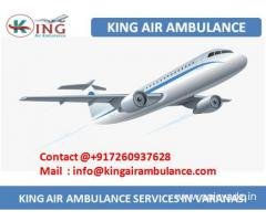 Get Air Ambulance in Varanasi with Medical Support by king