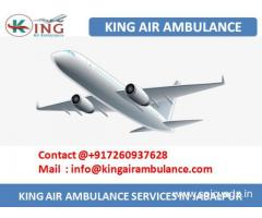 Most Reliable and Trustworthy Air Ambulance in Jabalpur by King
