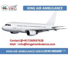 Get Top and Fast Air Ambulance in Indore by King