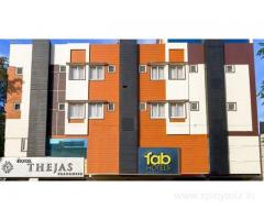 Get FabHotel Thejas Paaradise Airport in,Coimbatore with Class Accommodation.