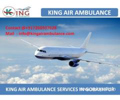 Best and Affordable Air Ambulance Service in Gorakhpur by King