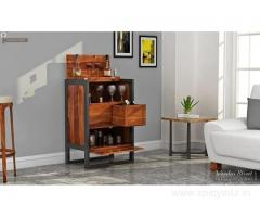 Grab the range of bar cabinets in Pune at WoodenStreet