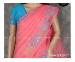 Collection of Embroidery Sarees
