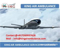 Get Best and Low Cost Air Ambulance Service in Lucknow by King