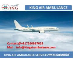 Hire Most Affordable Air Ambulance Service in Allahabad by King