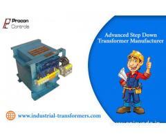Advanced Step Down Transformer Manufacturer
