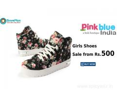 Pinkblueindia Coupons, Deals & Offers:Girls Shoes Sale from Rs.500