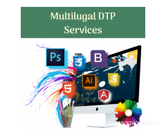 DTP Services – Help you to design Multilingual Brand