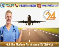 Book a Complete Hi-tech Air Ambulance from Patna at Any-time