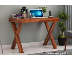 Browse latest Office Table Designs at WoodenStreet