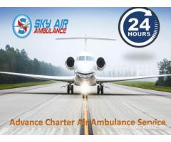 Pick Air Ambulance with Advanced Medical Equipment from Srinagar
