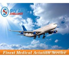 Pick Air Ambulance from Guwahati with Hi-Tech Medical Treatment