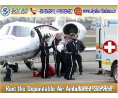 Hire Reliable Service of Medical Aviation from Brahmpur