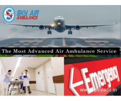 Get Excellent and Authentic Medical Air Ambulance from Chandigarh