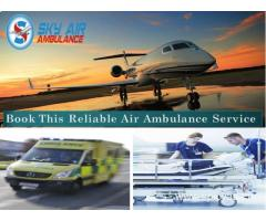 Pick Air Ambulance with Advanced Life-Sustaining Medical Aid from Dehradun