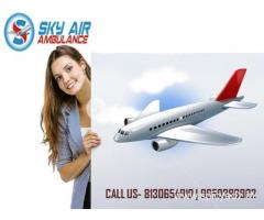 Select a Superior Air Ambulance in Guwahati with Expert Medical Unit