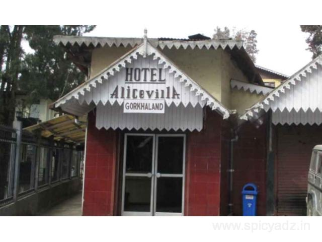 Get Hotel Alice Villa in,Darjeeling with Class Accommodation. - 1