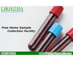 Free Home sample collection | Likhitha Diagnostics