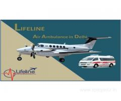 Lifeline Air Ambulance in Delhi Swift Assist Patient in Emergency to Fly
