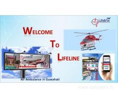 Lifeline Air Ambulance in Guwahati Immensely Take Care Onboard in ICU Enabled