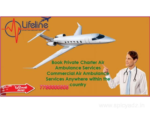Lifeline Air Ambulance in Hyderabad Suggested in Lethal Emergency Situation - 1