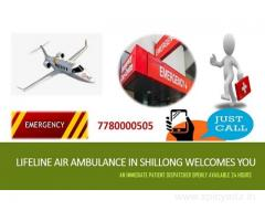 Lifeline Air Ambulance in Shillong Entails on Safety with utmost Effort