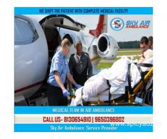 Avail First-Class Medical Treatment by Sky Air Ambulance in Darbhanga