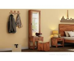 Discover bedroom furniture design ideas online on Wooden Street